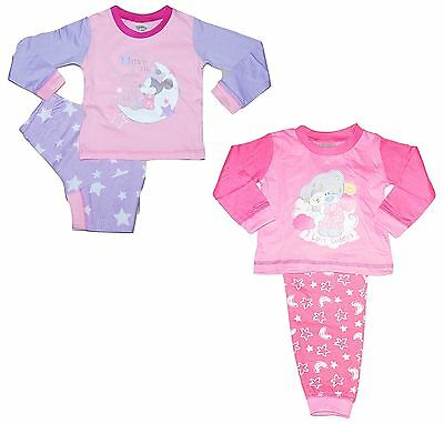Girls Baby Disney Minnie Mouse, Tatty Teddy Pyjamas PJs 6-9 9-12 12-18 18-24 Mth