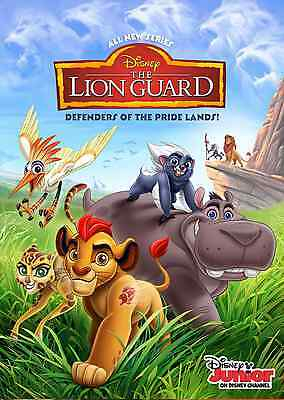 Unofficial The LION GUARD (1) *Glossy* A4 print Poster - Disney Simba Frozen