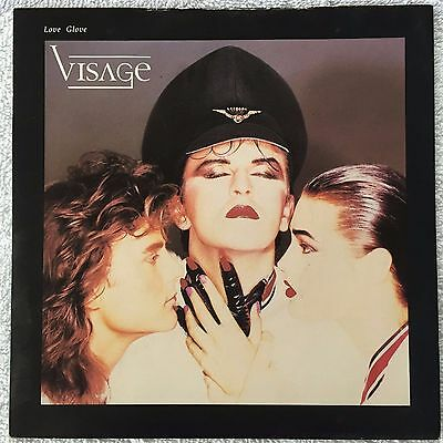 "Visage - Love Glove - Original 7"" Vinyl Single - 1984 - Steve Strange"