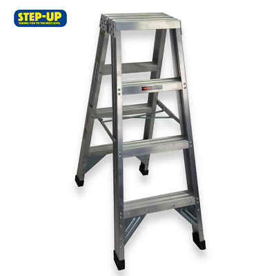 Step-up ST11203 1.2m Aluminium Double Sided Step Ladder