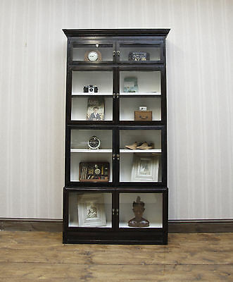 Rare Esavian Sectional Bookcase, School Bookcase, c1900, 4 section display