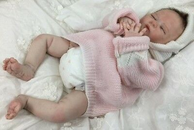 "Reborn Sleeping Girl ""Leila""- Doll Therapy for People with Alzheimer & Caregiver"