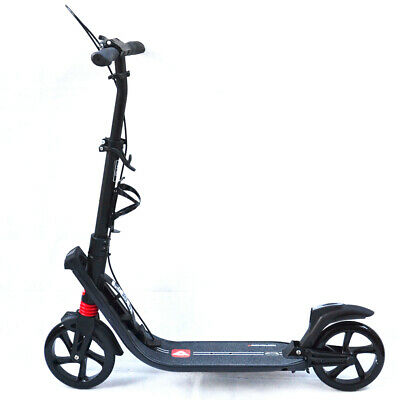 2017 Deluxe Push Scooter Adult Kids Commuter Dual Suspension Big Wheel Presents