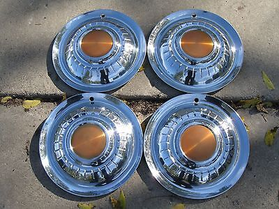 1955 Plymouth Hubcaps Wheel Covers Wheelcovers Belvedere Plaza Savoy