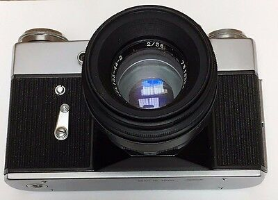 Prinzflex 500 35mm camera with Helios 44-2   NOT TESTED