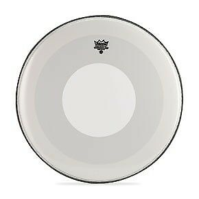 """Remo 22"""" Powerstroke 4 Coated Bass Drum Head w/ Dot"""