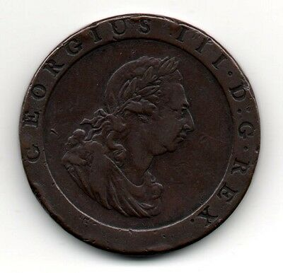 George 111 1797 One Penny . Good , clear impression . Spink 3777 .