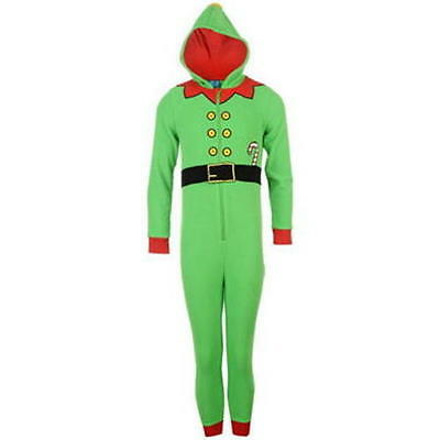 Childrens Little Elf Onesie 11-12yrs Star Novelty New with tags RRP £26.99
