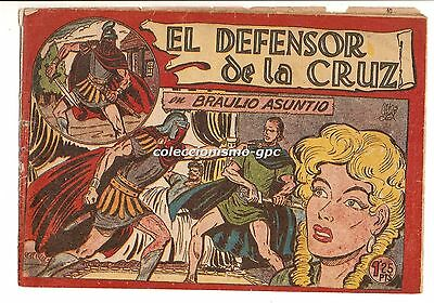 EL DEFENSOR DE LA CRUZ nº 8 TEBEO ORIGINAL 1956 BRAULIO ASUNTIO Editorial Maga