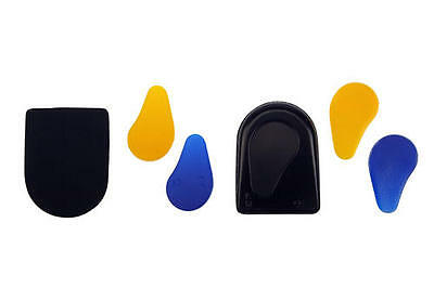 New Technogel Supportive Impact Stress Relief Softspot Cushioned Heelpad Insoles