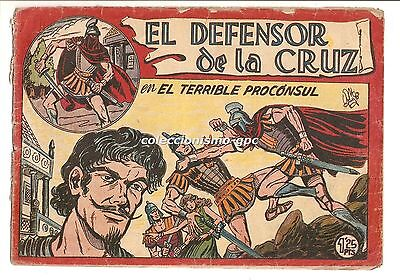 EL DEFENSOR DE LA CRUZ nº 10 TEBEO ORIGINAL 1956 EL TERRIBLE PROCONSUL Edit Maga