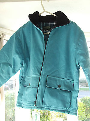 Shire Classics 100% Waxed Cotton Outer Girls Jacket Size Xl