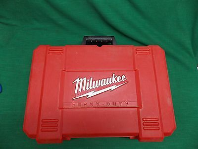 "Case only Milwaukee cordless heavy duty 1/2"" hammer driver/drill kit 0824-24 V18"