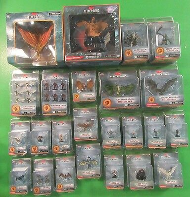 D&D Attack Wing Lot Starter Set Plus Many Expansions All New Sealed - Wizkids