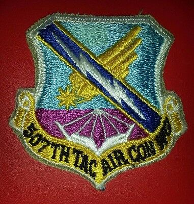 USAF 507th Tactical Air Control Wing Patch