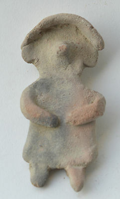 Mexico figure terracotta pottery pre columbian