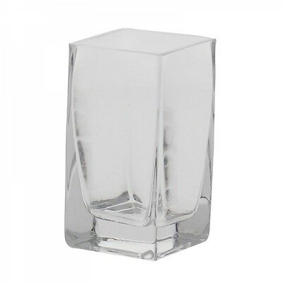 10 x Glass Tank Vase Wedding Table Event Decoration 10cm EF