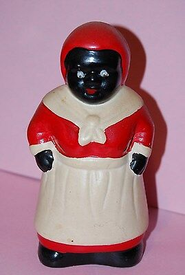 Unique BLACK AMERICANA LADY COIN BANK African Aunt Jemima