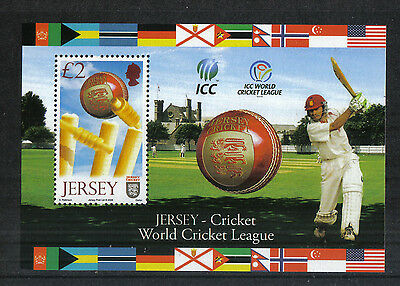Jersey 2008 World Cricket Tournament ss--Attractive Sports Topical (1326) MNH