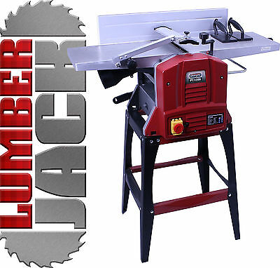 "Lumberjack Professional Wood 10"" x 5"" Planer Thicknesser with Legstand 240v"