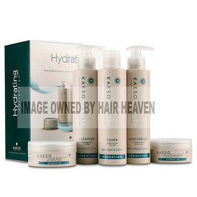 Kaeso Hydrating Facial Kit contains 5 products Suitable for Normal to Dry Skin