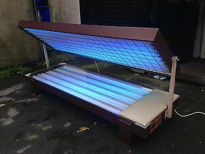 18T pine sunbed 100watt 01740655557 for delivery £ most of uk 10301