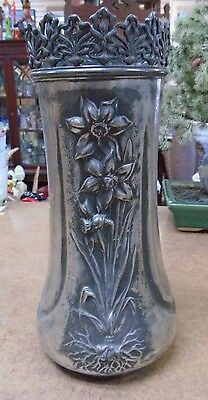 RARE Antique SIMPSON HALL MILLER & CO. Repousse VASE