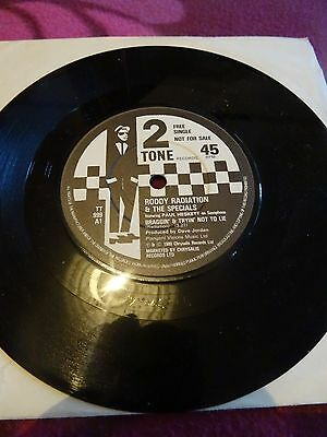 Roddy Radiation & The Specials Braggin & Trying Not To Lie 7' Single