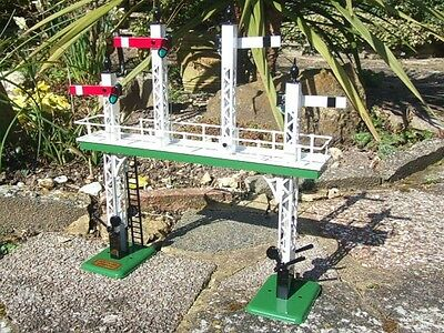 Ace Trains O Gauge ACS/1 Vintage Style HOME Signal Gantry Electric B/NEW RELEASE