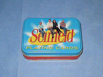 Collectible 2004 Seinfeld Playing Cards with Tin