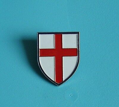 st Georges flag stud pin badge charity