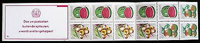 Suriname stamps booklet - Tropical fruits_1980_1 - MNH.