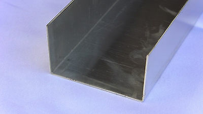 Aluminum Fabricated Channel .050 x 1.5 x 2.5 x 1.5 x 48 in. (2x3) UAAC (2pcs)