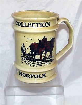Holkham Pottery Tankard made Exclusively for the Norfolk Countryside Collection