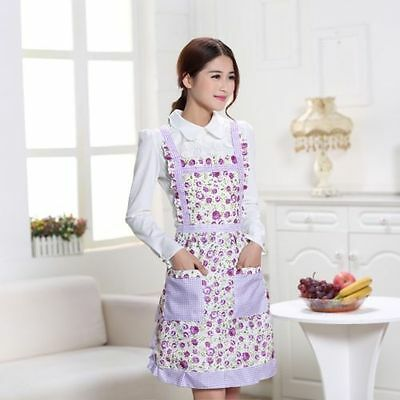 Apron with Front Pocket Chefs Catering Cooking Butchers Kitchen Multi Patterns