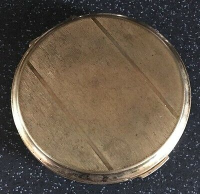Vintage Stratton Compact Gold Tone. Puff And Powder.