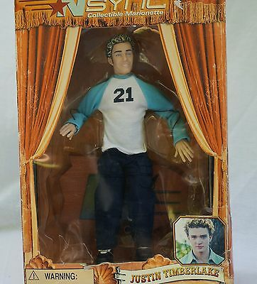 Nsync Marionette Doll JUSTIN TIMBERLAKE Living Toyz - Used In Box
