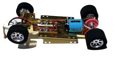 H&R Racing Products (HRCH07) 1/24 RTR Slot Car Adjustable Chassis