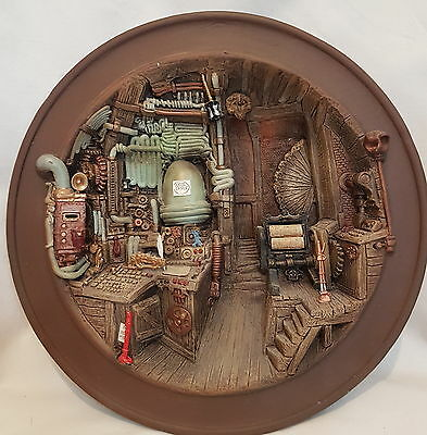 Rare Discworld Hex Plate Cunning Artificer Limited Edition