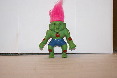 Vintage 90s Incredible Hulk Style Troll 5in Tall