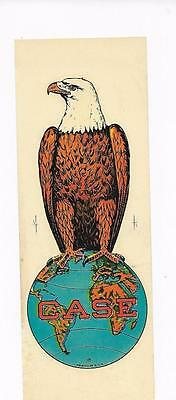 """J I Case Co. Tractor Decal  """"old Abe"""" Eagle  3"""" By 8 3/4"""""""