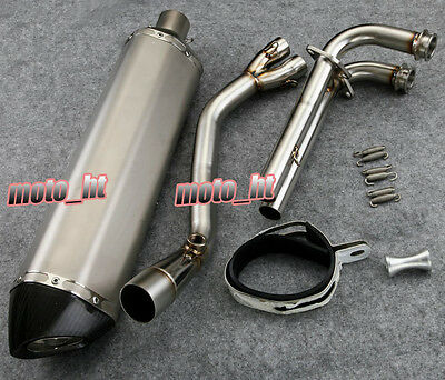 Motorcycle Exhaust Style Full Set Fit Silencer For YAMAHA 2008-2013 TMAX 530