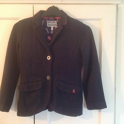 Joules little Joules Girls Blazer Jacket age 9-10 years in Navy