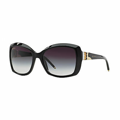 Bulgari 8133 501/8G Occhiale Da Sole Nero Black Sunglasses Sonnebrille Donna