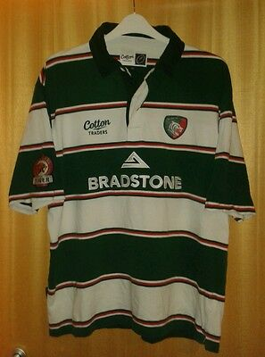 Leicester Tigers Rugby Shirt Size XL