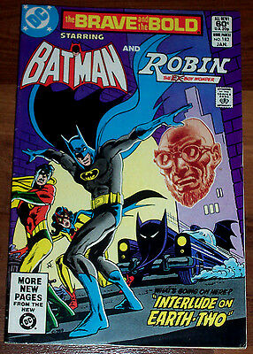 BRAVE & THE BOLD #182 (VF+) 1st Modern Appearance of Golden-Age BATWOMAN! 1982