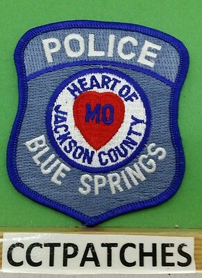 Blue Springs, Missouri Police Shoulder Patch Mo