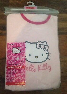 M&S Hello Kitty Thermal Warmth Long Sleeve Vest And Legging Set Age 9-10 BNIP