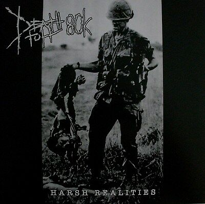 """DEATHTOLL 80k """"Harsh Realties""""  LP insect warfare,rotten sound,nasum,crossed out"""