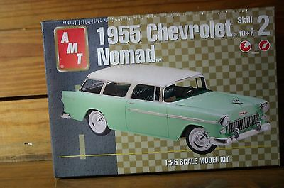 AMT Model Kit 1955 Chevrolet Nomad 1:25 Scale  #31512 - Factory Sealed